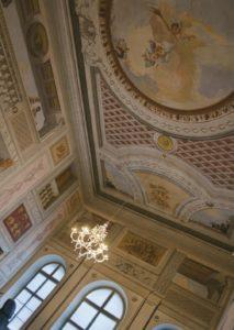 Palace Toppo-Wassermann - Fresco detail